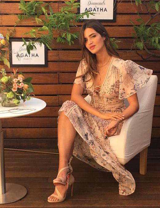 vestido de Sara Carbonero en BDBA instagram