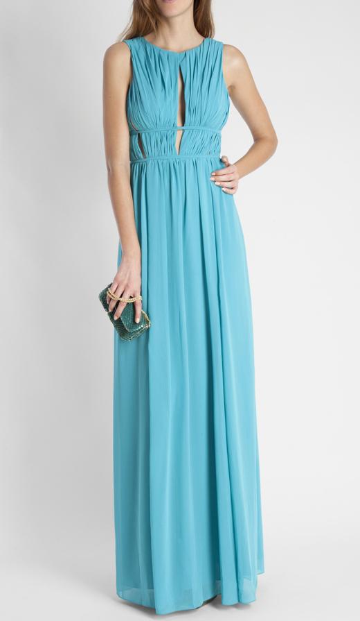 vestidos largos para ser la invitada perfecta con BDBA azul