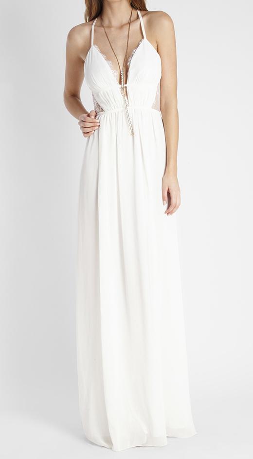 ropa blanca para verano de BDBA vestido largo