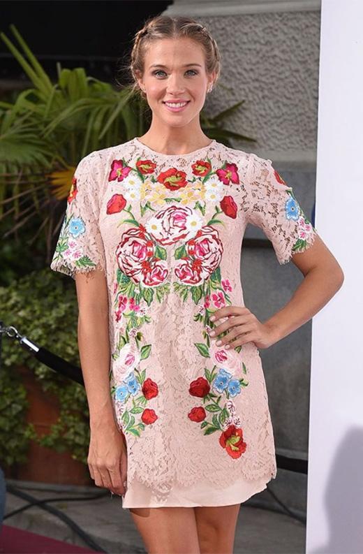 el vestido de flores de patricia montero en BDBA
