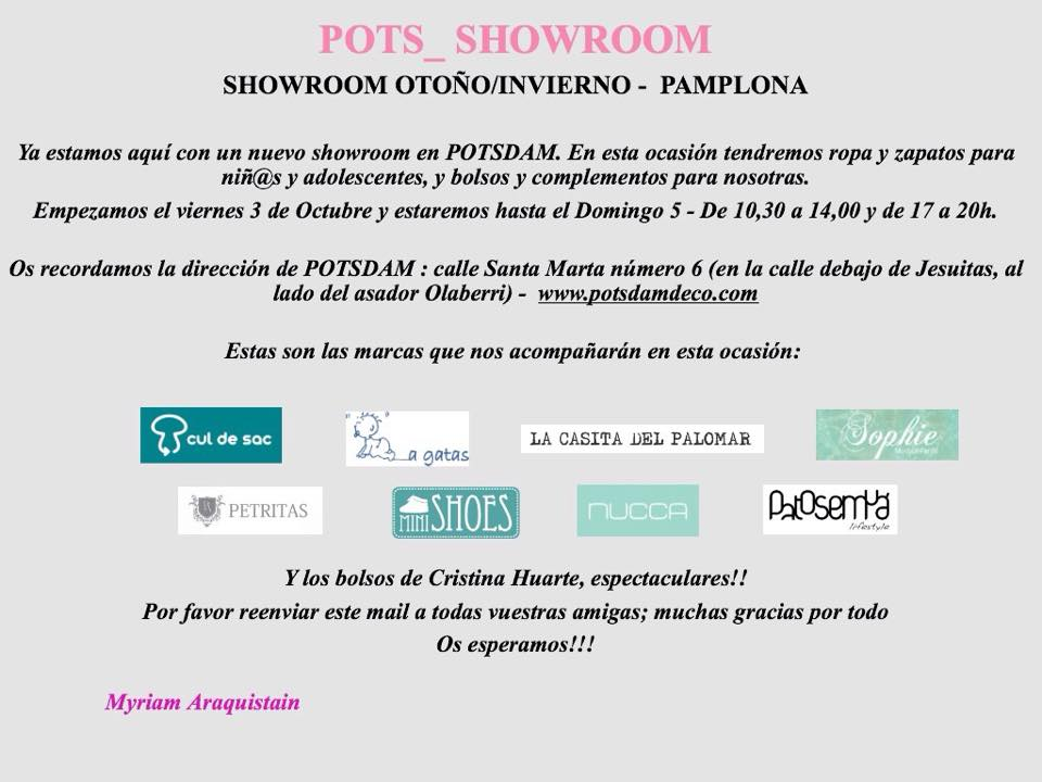 showroom pamplona