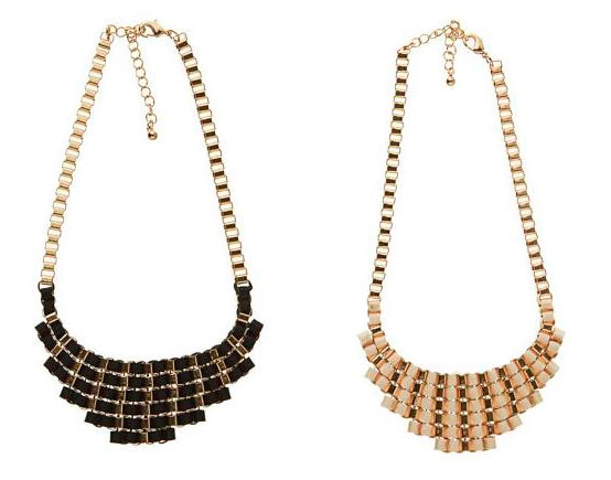accesorios collares para la noche
