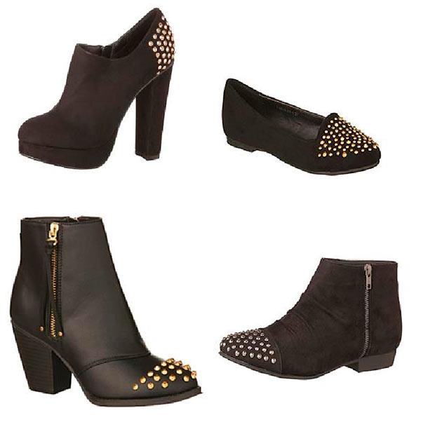 calzado color negro de mujer