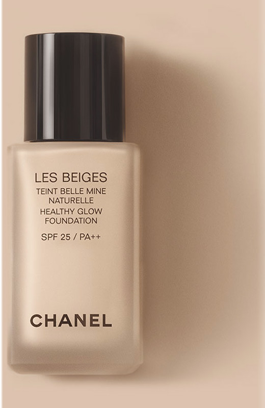 les beiges chanel maquillaje