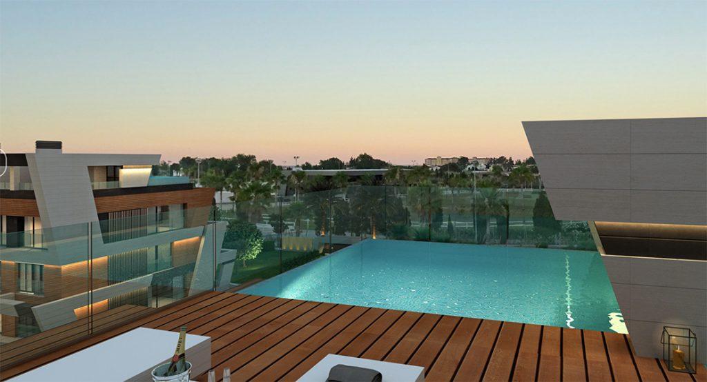 Promoción Oxer Viviendas con piscina