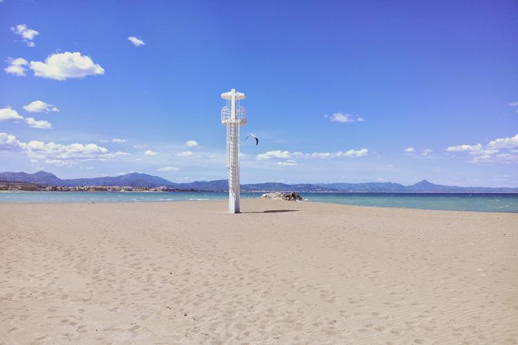 Playas de la costa blanca: Els Molins (Dénia)