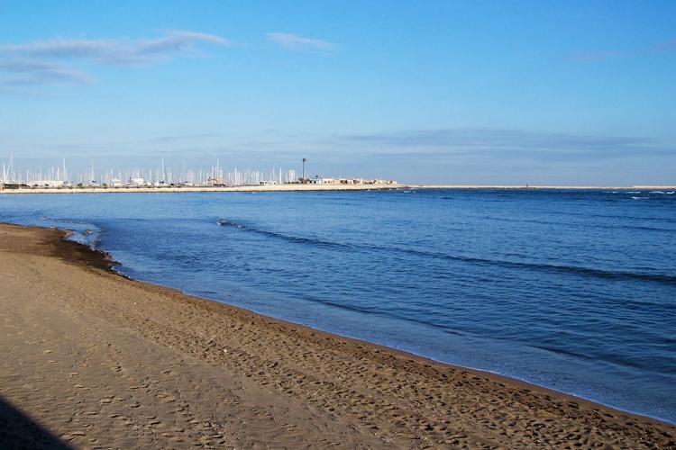 Playas de la costa blanca: Playa Marineta Casiana (Dénia)