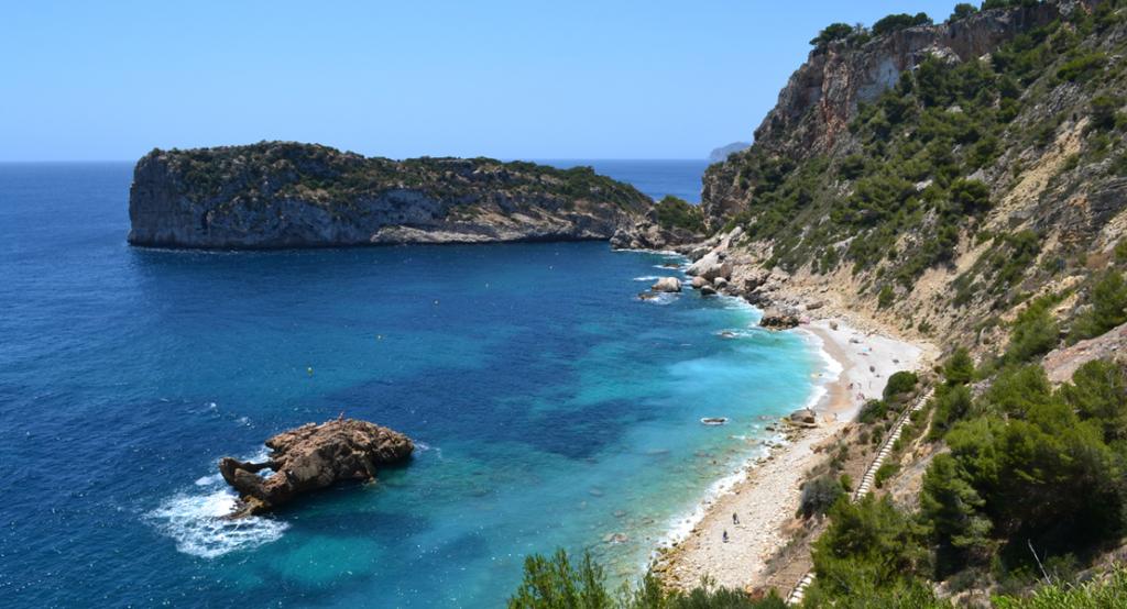 Playas de la costa blanca: Cala Ambolo