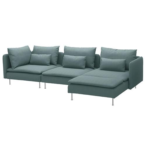 Muebles de Ikea: Sofá Söderhamn