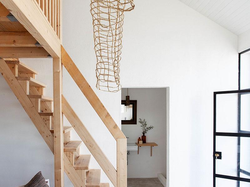 espacio con luz estilo nordico