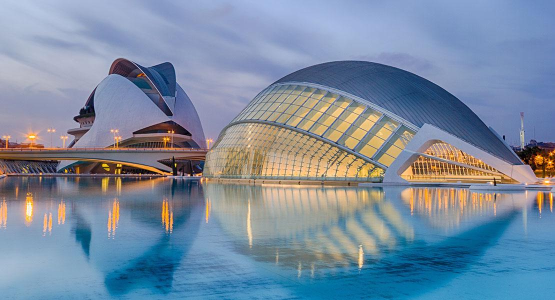 comunidad valenciana valencia ciudad de las artes y las ciencias