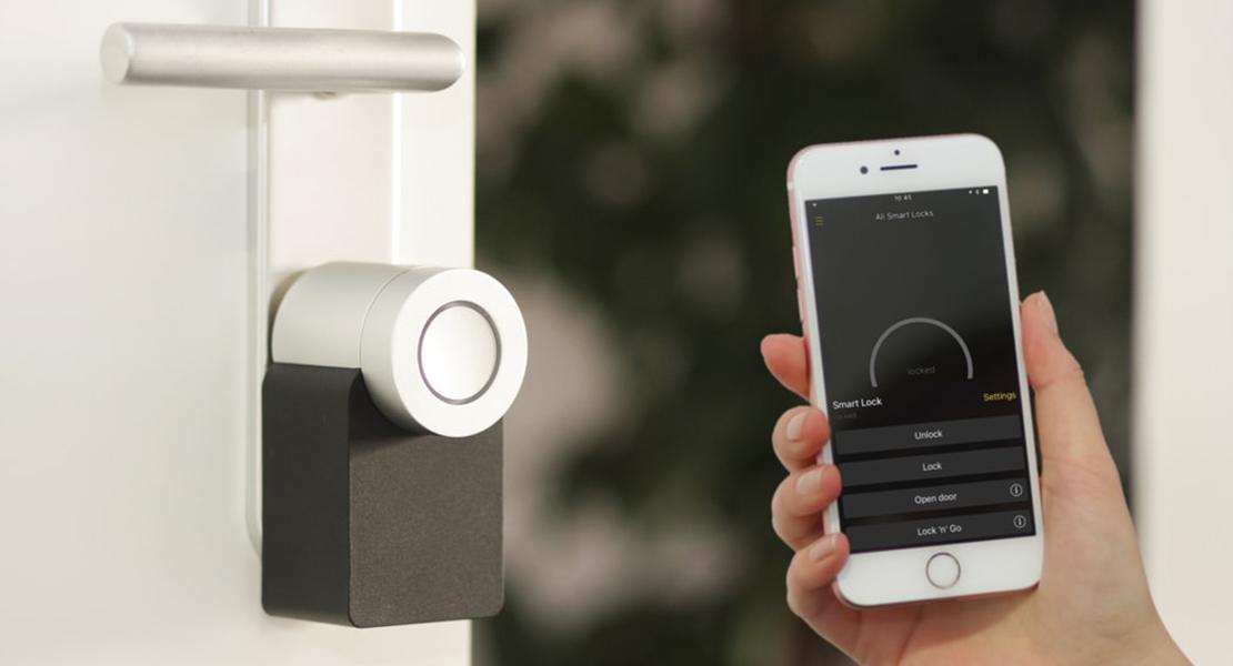 acceso a casa con smartphone