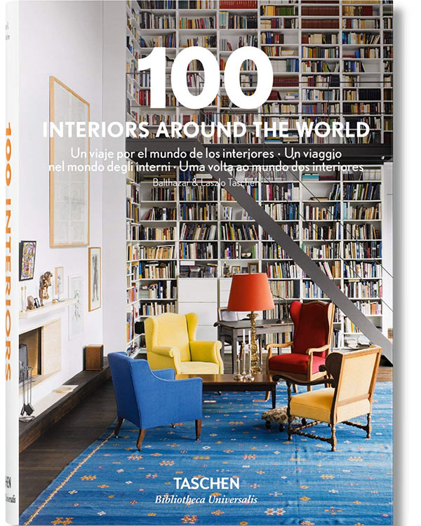 libros de decoracion 100 interiors around the world