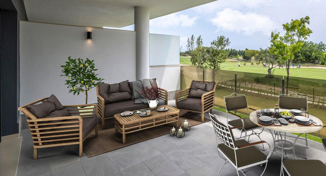 terraza de Residencial Hoyo 17