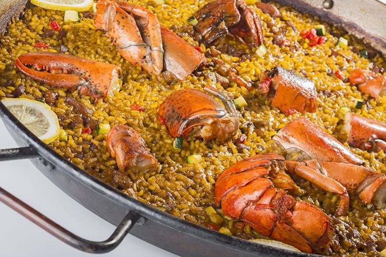 restaurante aura paella valenciana