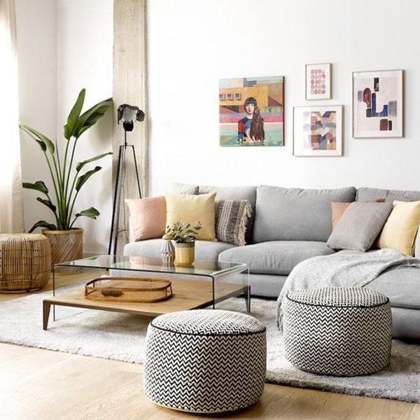 sofa decorativo