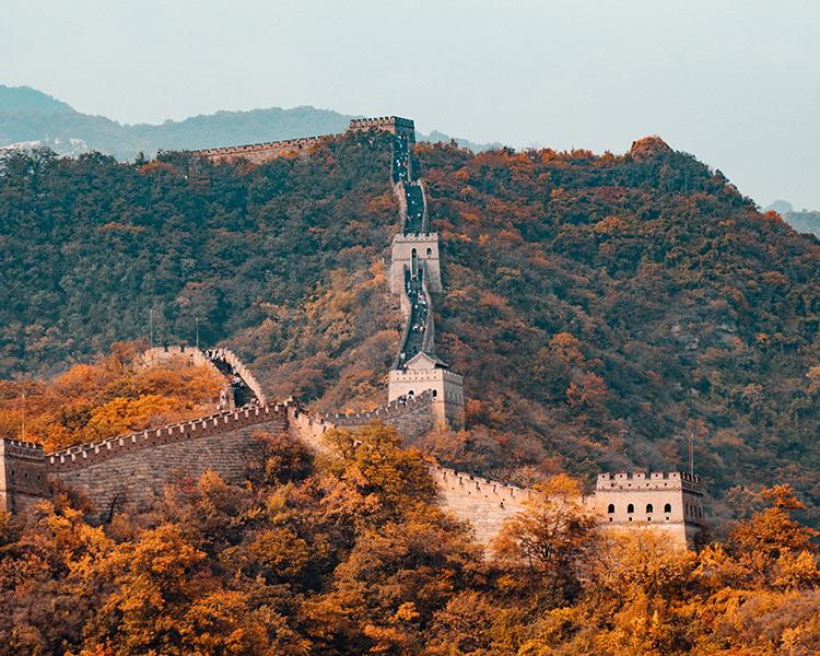 curiosidades de arquitectura muralla china