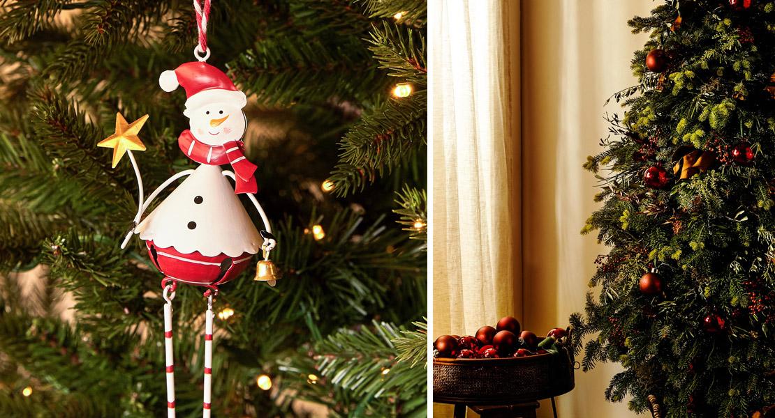 Adornos para el árbol de navidad de Zara Home