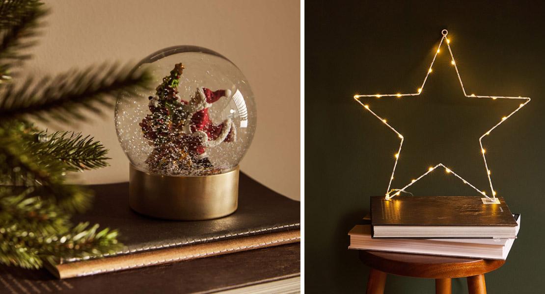 Adornos de navidad de Zara Home