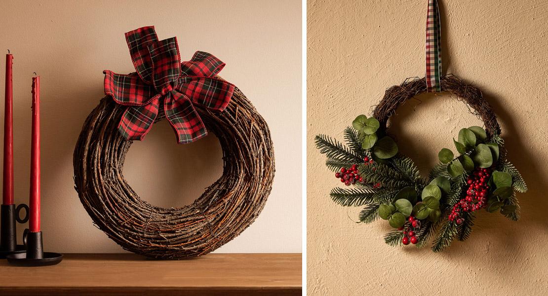 Guirnaldas de navidad de Zara Home