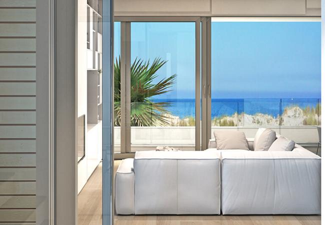 Vivienda con vistas al mar de CHG