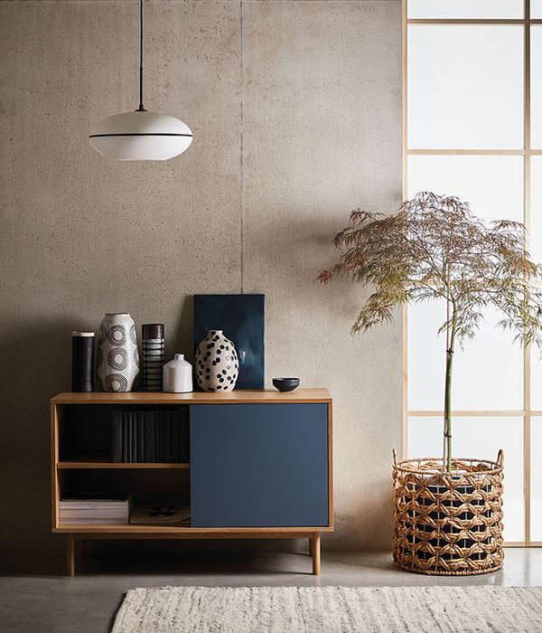 muebles minimalistas japandi