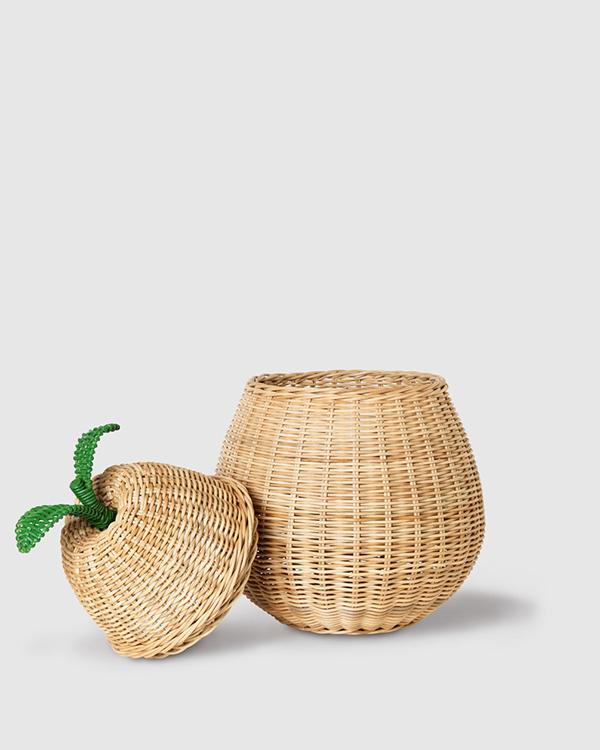 KonMari canasta en forma de pera