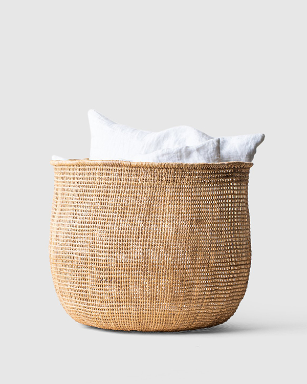 KonMari canasta de ratán