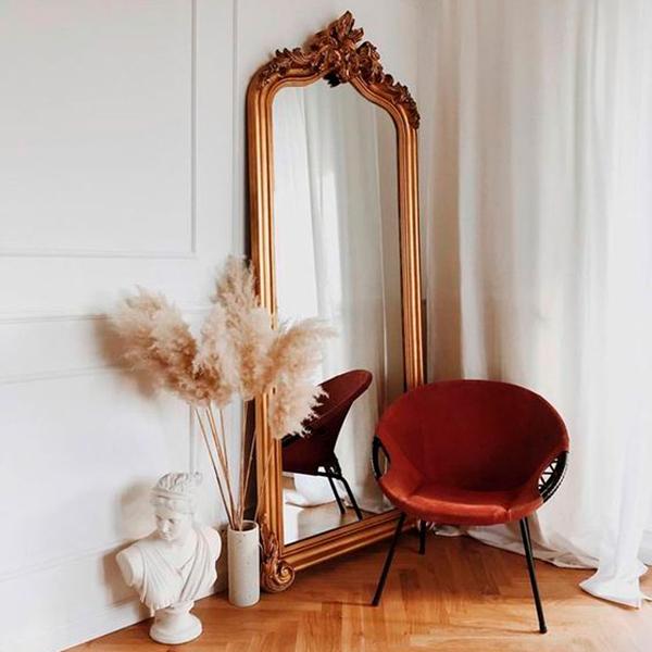 tendencias decorativas que no pasan de moda: espejos grandes