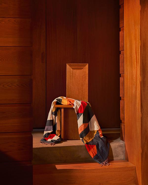 Zara home manta de colores