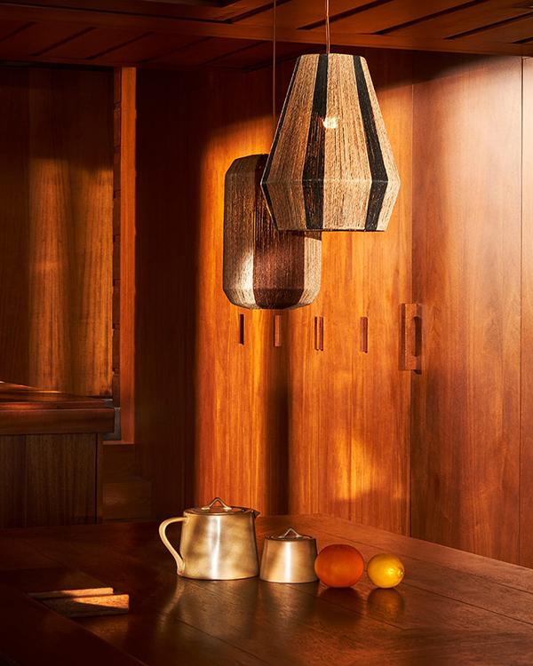 Zara Home SS20 lámparas de rafia