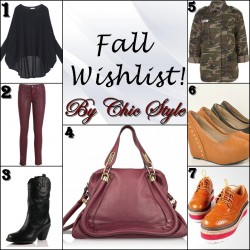 fall wishlist 2013