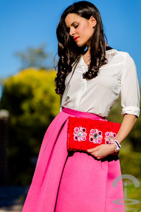 DIY Clutch con strass Crimenes de la Moda