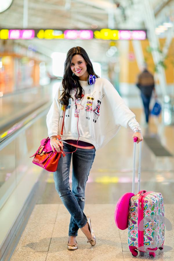 Look de viaje Crimenes de la Moda