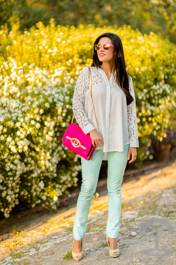 Light Blue Pants Crimenes de la Moda