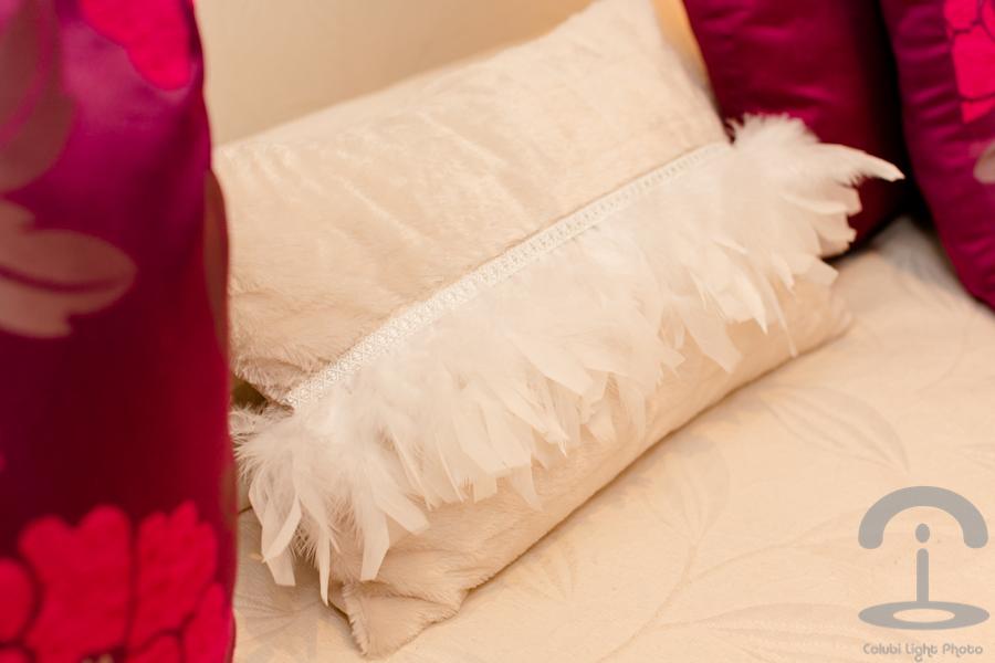 Decoracion DIY con plumas Crimenes de la Moda