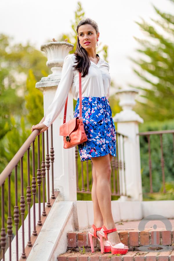 Falda pareo Crimenes de la Moda