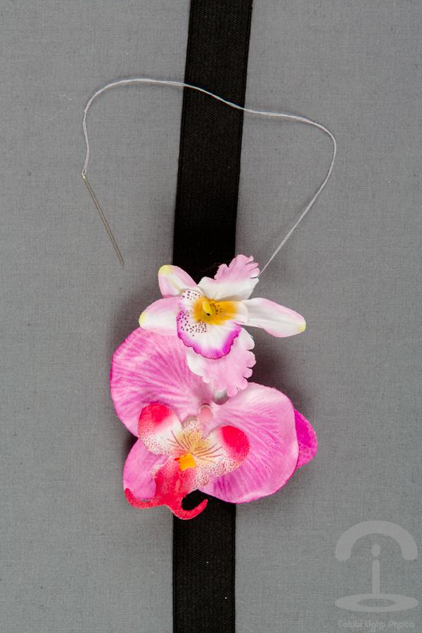 DIY Corona de flores Crimenes de la Moda