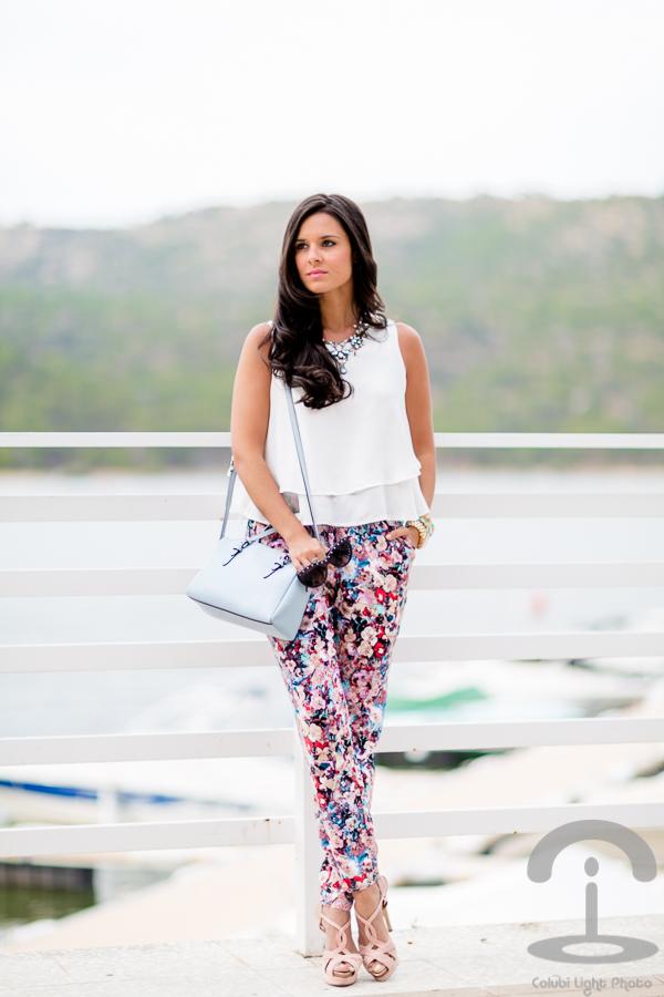 Floral pants pantalones de flores Crimenes de la Moda
