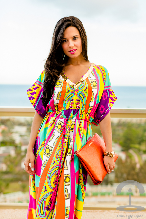 Summer Colorful Dress Crimenes de la Moda Flamenco