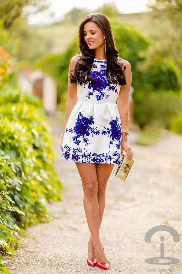 Porcelain Dress Crimenes de la Moda