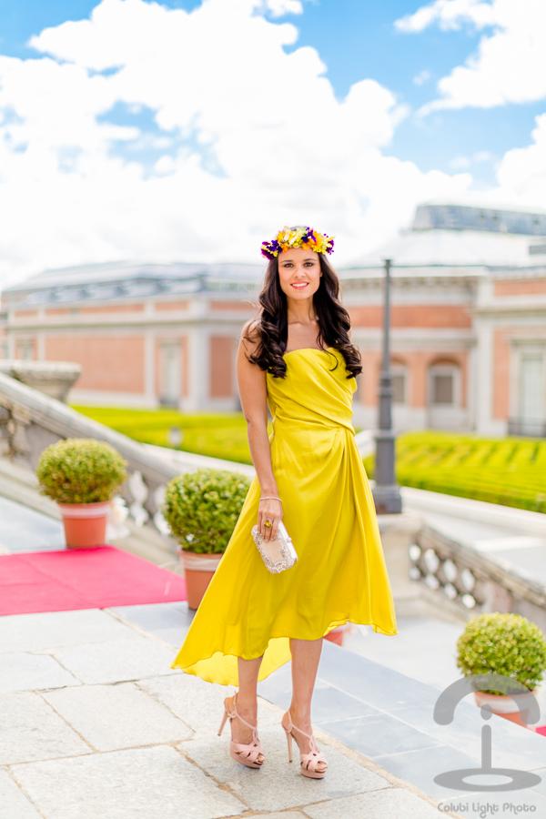 Look vestido amarillo boda – Vestidos de moda de esta temporada