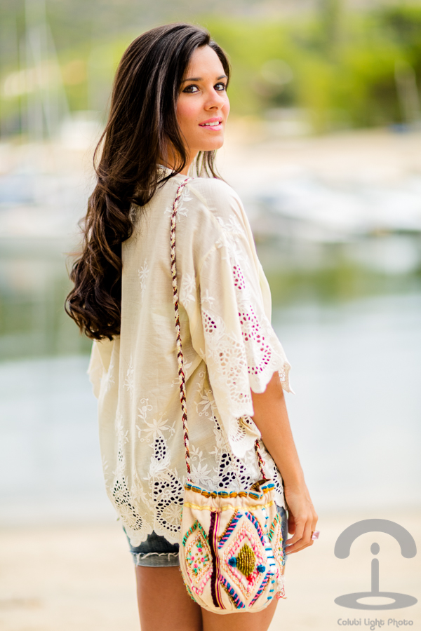 Bohemian summer look Flamenco Crimenes de la Moda