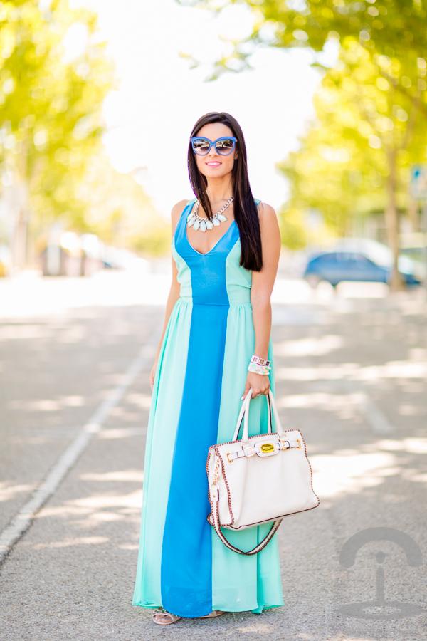 Long summer dress vestido largo de verano Crimenes de la Moda