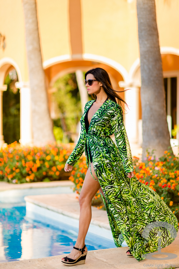 Tropical Maxi Kimono Miss Guided Crimenes de la Moda