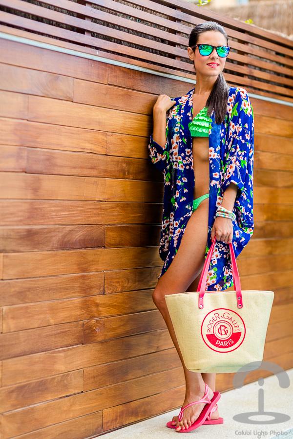 Floral Kimono Crimenes de la Moda