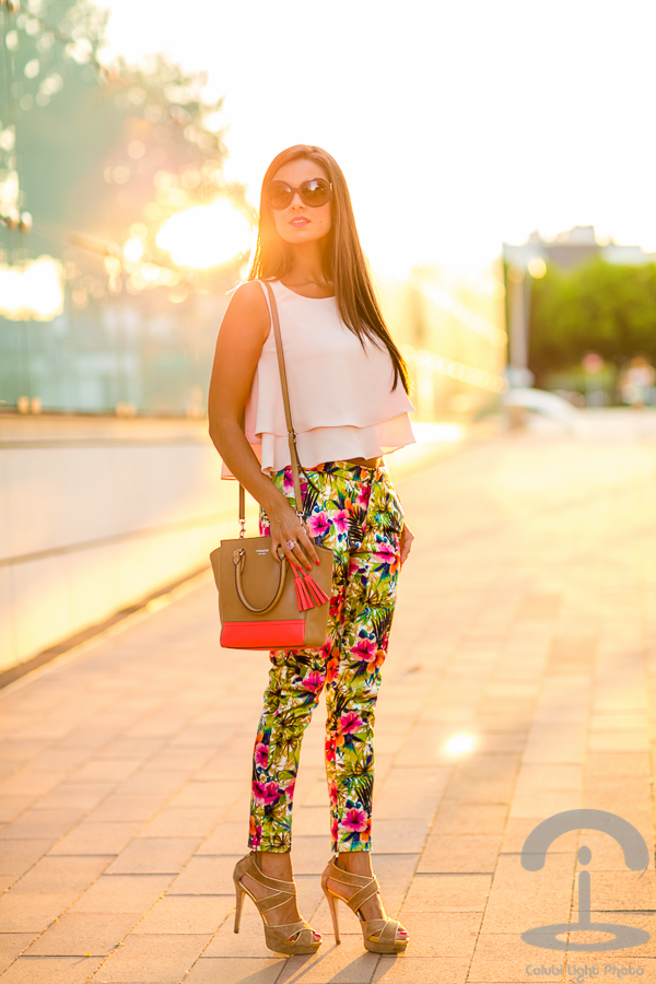 Tropical pants Crimenes de la Moda