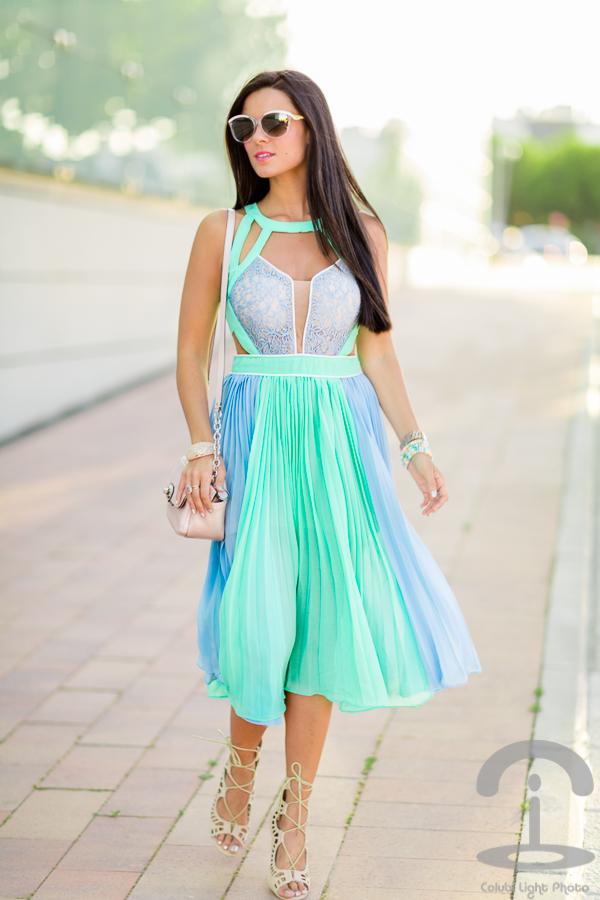 Falda midi Skirt Crimenes de la Moda