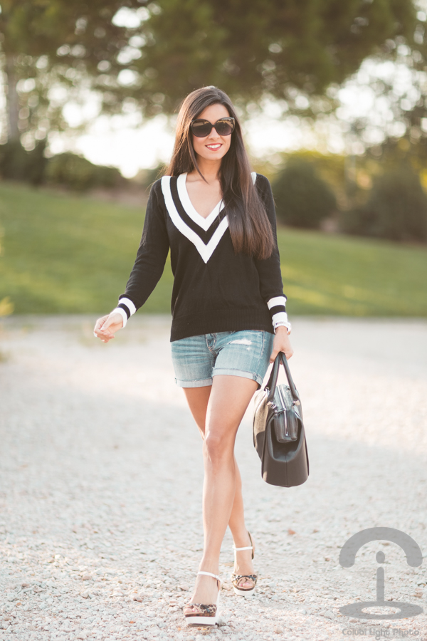 Black & White Jumper Crimenes de la Moda