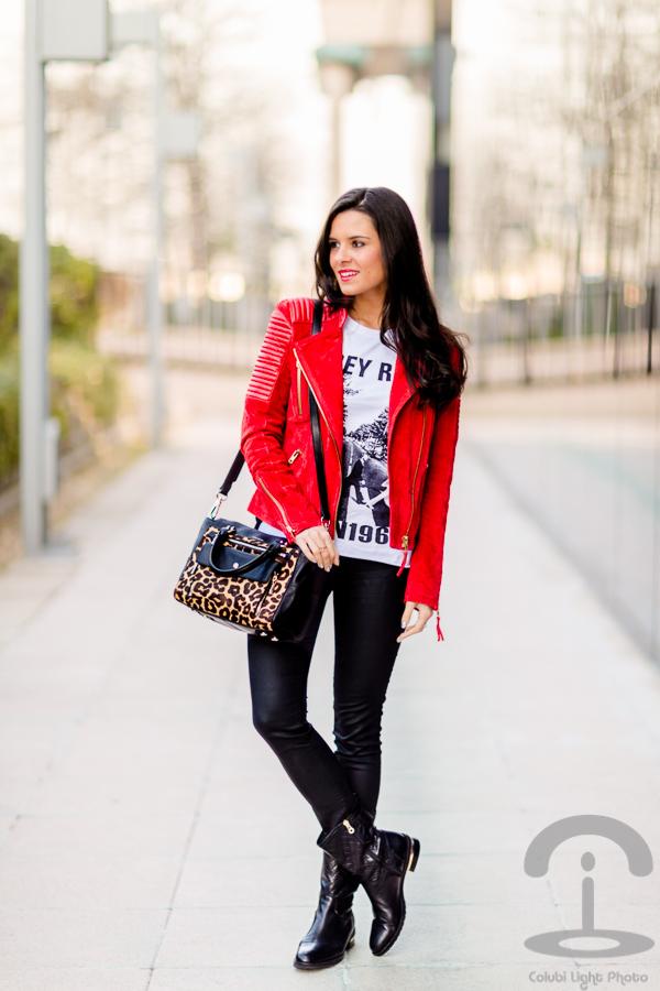 Biker Jacket Cazadora Crimenes de la Moda